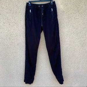 Joes jeans black joggers size 30 pants